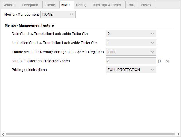 MicroBlaze MMU Configuration