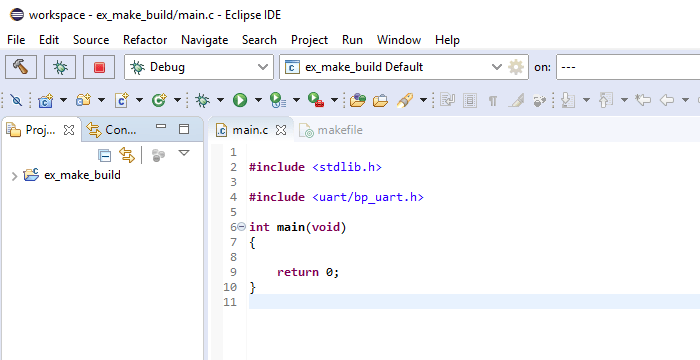 Close-up screenshot of the Eclipse IDE with the code editor opened.