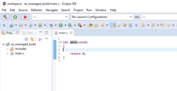 GCC Toolchain Eclipse Setup Guide Part 2 — Managed Build Project