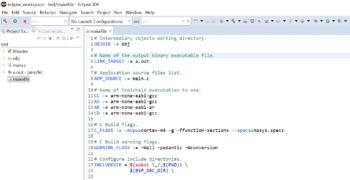 GCC Toolchain Eclipse Setup Guide Part 3 — Makefile Project